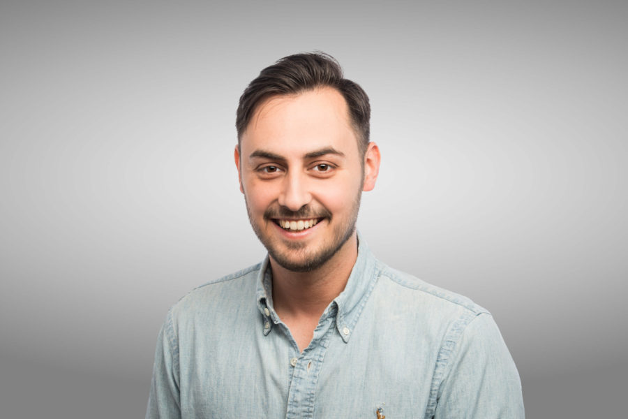 Luca Minetti, Account Executive
