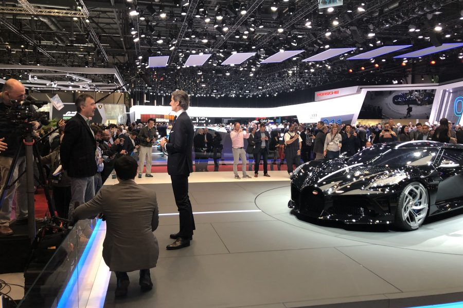 Telling the Story of the Geneva Motor Show