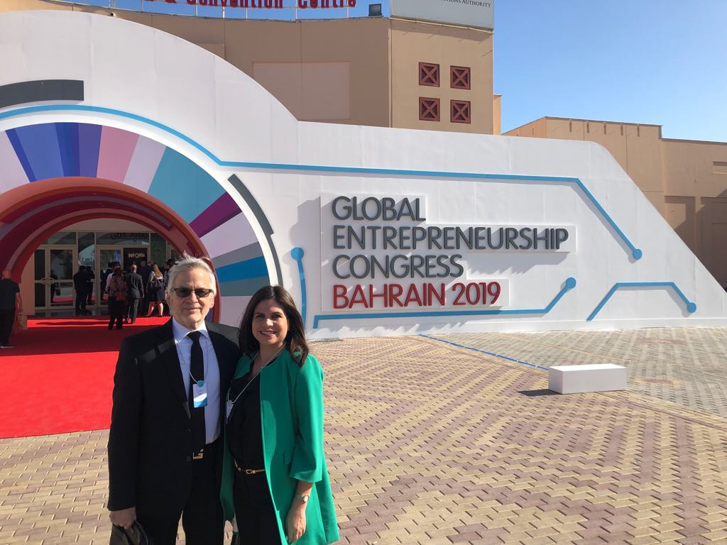 On the floor at the GEC 2019