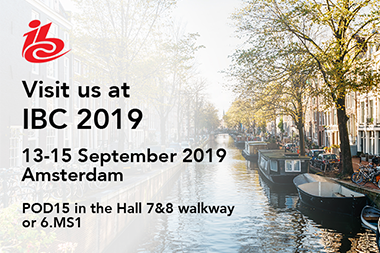 Join us at IBC 2019 to see how we're shaping the future of news and business channels
